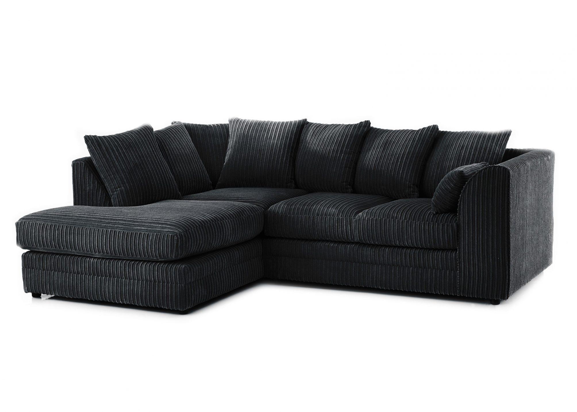 Michigan Left Hand Facing Corner Sofa (Jumbo Cord) – Sofa Scene